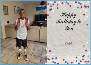 November 5, 2019 / Khaleb Moebius Syndrome Holiday Hero