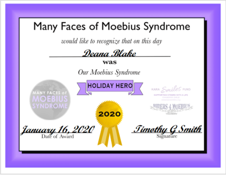 Moebius Syndrome Awareness Day