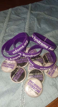 Moebius Syndrome - Bracelets & Buttons