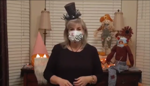 Moebius Syndrome Halloween Face Mask Decorating Contest